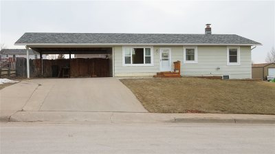 Spearfish Single Family Home Uc-Contingency-Take Bkups: 911 S 32nd