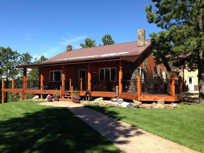 Deadwood, Deadwood/central City, Lead Single Family Home For Sale: 21321 Strawberry Hill