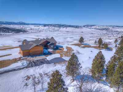 Spearfish Single Family Home Uc-Contingency-Take Bkups: 11816 Valley View