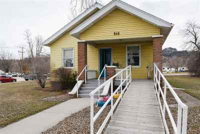 Spearfish Single Family Home For Sale: 846 Main