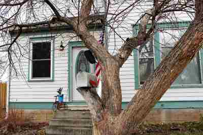 Belle Fourche Single Family Home Uc-Contingency-Take Bkups: 1015 State