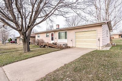 Belle Fourche Single Family Home Uc-Contingency-Take Bkups: 1817 7th Ave