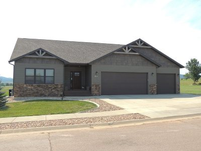 Spearfish Single Family Home For Sale: 8025 Brooks Loop