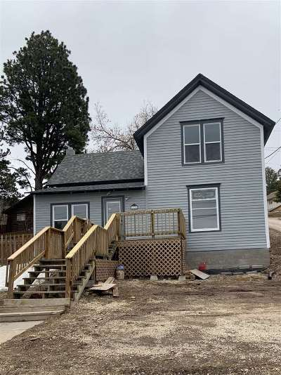 Deadwood, Deadwood/central City, Lead Single Family Home Uc-Contingency-Take Bkups: 719 W Upper Addie