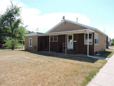 Belle Fourche Single Family Home Uc-Contingency-Take Bkups: 1000 National