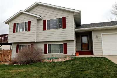 Rapid City Single Family Home For Sale: 110 Bengal