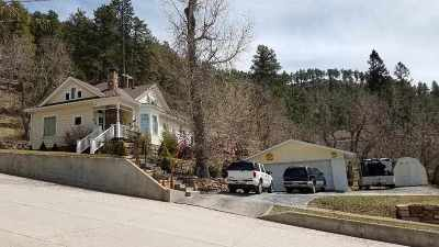 Deadwood, Lead Single Family Home For Sale: 66 Lincoln