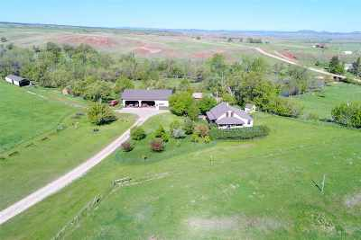 Spearfish Single Family Home For Sale: 19915 Crow Creek