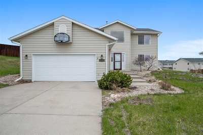 Rapid City Single Family Home Uc-Contingency-Take Bkups: 4101 Derby