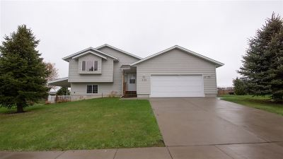 Rapid City Single Family Home Uc-Contingency-Take Bkups: 3135 Willowbend