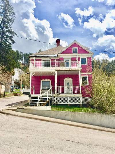 Deadwood SD Single Family Home For Sale: $235,000