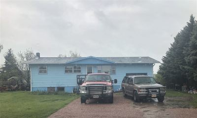 Spearfish Single Family Home Uc-Contingency-Take Bkups: 3823 Old Belle