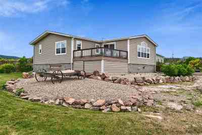 Spearfish Single Family Home For Sale: 1425 Hill