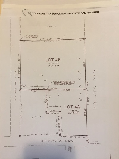 Spearfish Residential Lots & Land For Sale: Tbd 34th