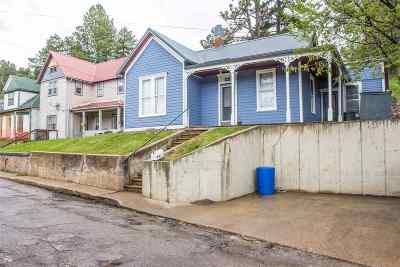 Deadwood, Lead Single Family Home For Sale: 518 Railroad