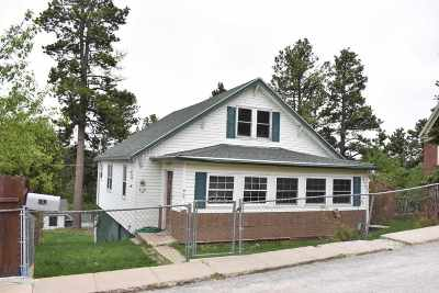 Deadwood, Lead Single Family Home For Sale: 503 W Summit