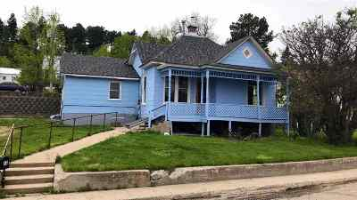 Deadwood, Lead Single Family Home For Sale: 53 1st Street