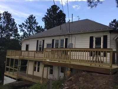 Deadwood, Lead Single Family Home For Sale: 209 Gold