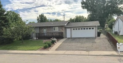 Belle Fourche Single Family Home Sale Of Prop Contingency: 1817 Valley Drive