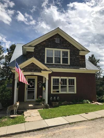 Deadwood, Lead Multi Family Home For Sale: 505 W Summit Street