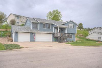 Rapid City Single Family Home For Sale: 3741 City View