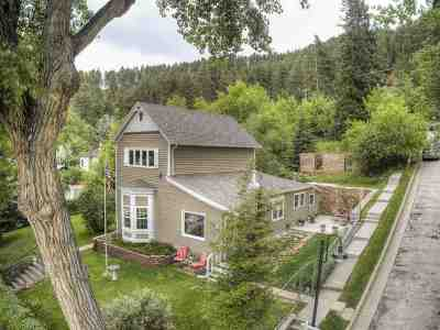 Deadwood, Lead Single Family Home For Sale: 15 Madison