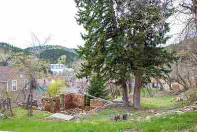 Deadwood, Deadwood Area, Deadwood/central City, Lead Residential Lots & Land For Sale: Washington