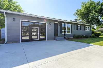 Spearfish Single Family Home Uc-Contingency-Take Bkups: 206 Evans