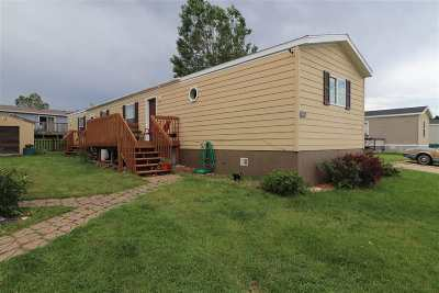 Spearfish Single Family Home Uc-Contingency-Take Bkups: 1128 Crow Peak Lane