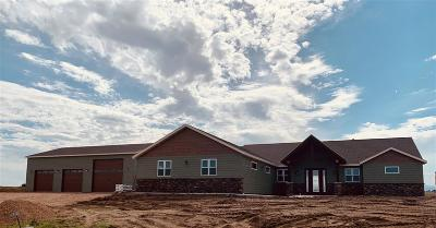 Belle Fourche Single Family Home Under Contract-Dont Show: Lot 11 Block 5 Hat Ranch 2