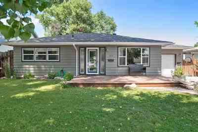 Belle Fourche Single Family Home Uc-Contingency-Take Bkups: 1001 Lawrence