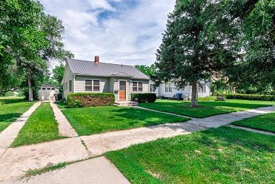 Belle Fourche Single Family Home Uc-Contingency-Take Bkups: 1021 Kingsbury St