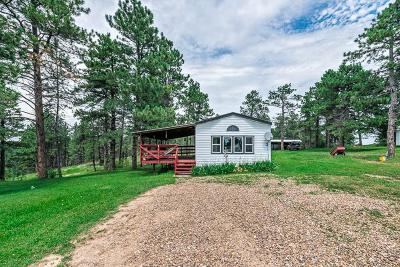 Belle Fourche Single Family Home For Sale: 19270 Shear Rd