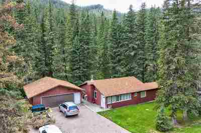 Deadwood, Lead Single Family Home Uc-Contingency-Take Bkups: 21255 Us Hwy 14a