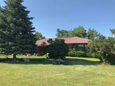 Whitewood Single Family Home For Sale: 20199 Scale House