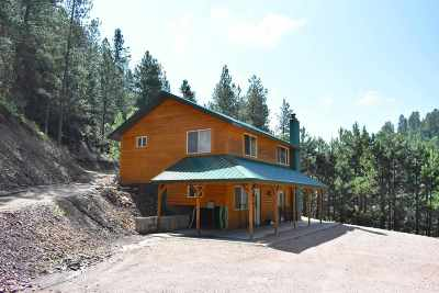Deadwood, Lead Single Family Home For Sale: 11422 Blacktail Place