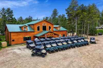 Deadwood, Lead Commercial For Sale: 21766 Custer Peak Road