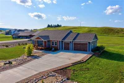 Spearfish Single Family Home Uc-Contingency-Take Bkups: 2492 Tumble Weed Trail
