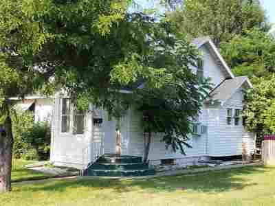 Sturgis Single Family Home For Sale: 1216 Fulton