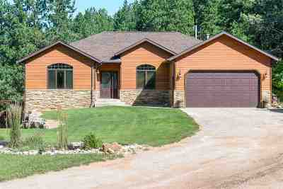 Spearfish, Deadwood/central City, Deadwood, Strugis, Whitewood, Belle Fourche, Spearfish Canyon Single Family Home For Sale: 3220 Maitland Rd