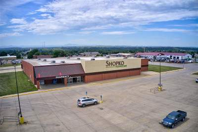 Spearfish, Deadwood/central City, Deadwood, Strugis, Whitewood, Belle Fourche, Spearfish Canyon Commercial For Sale: 1 5th