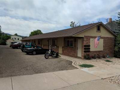 Spearfish, Deadwood/central City, Deadwood, Strugis, Whitewood, Belle Fourche, Spearfish Canyon Multi Family Home For Sale: 309 N Main