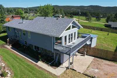 Rapid City Single Family Home For Sale: 10400 Nemo