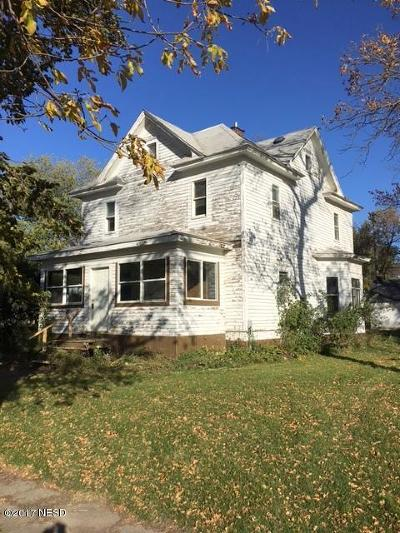 Florence Single Family Home For Sale: 602 Main Street