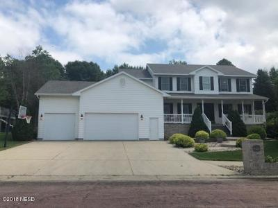 Watertown Single Family Home For Sale: 1116 Sunset Street NW