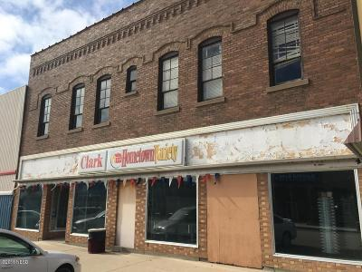 Clark Commercial For Sale: 114 N Commercial Street