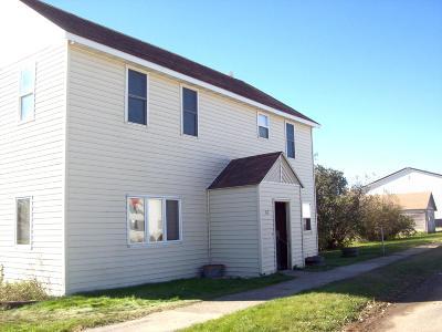 Estelline Single Family Home For Sale: 312 Arthur Avenue E