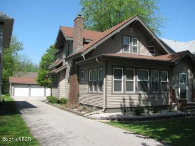 Milbank Single Family Home For Sale: 504 S 6th Street