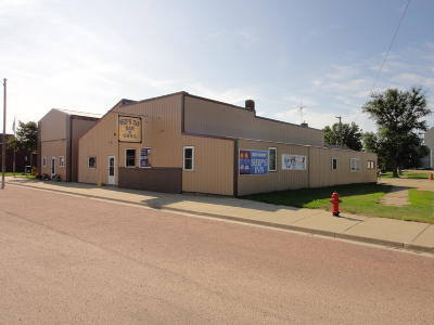 Castlewood Commercial For Sale: 105 Main Street