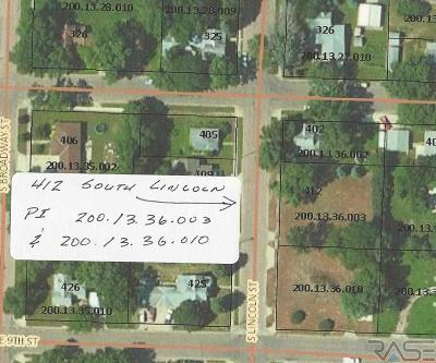 Residential Lots & Land For Sale: 412 S Lincoln St